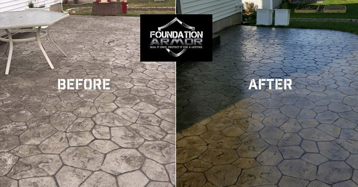 Wet Look Concrete Sealer Products. Stone And Pavers ...