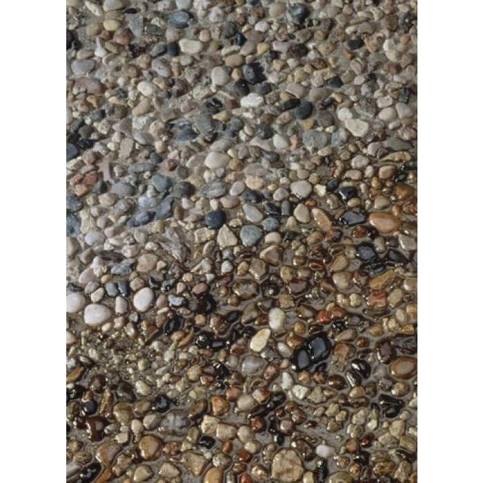 Sealed VS Unsealed Aggregate with AG Brown Seal