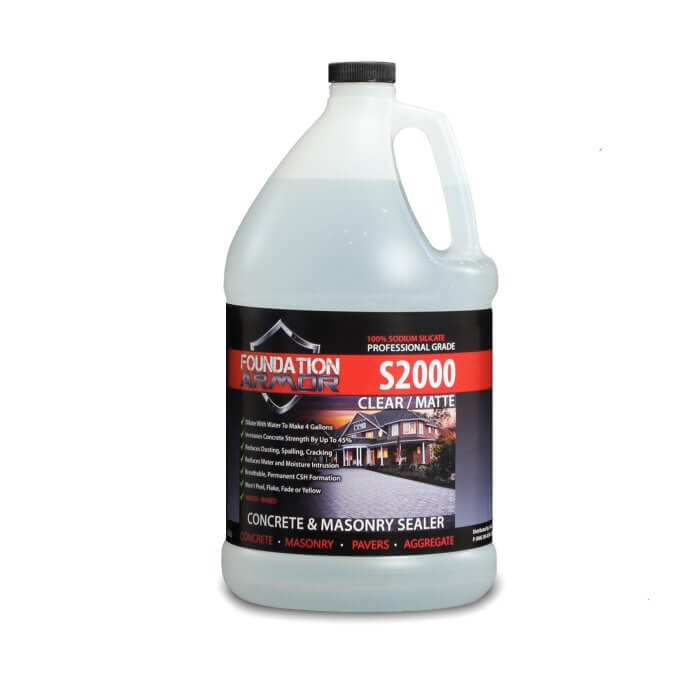 Armor S2000 Concentrated Sodium Silicate Sealer