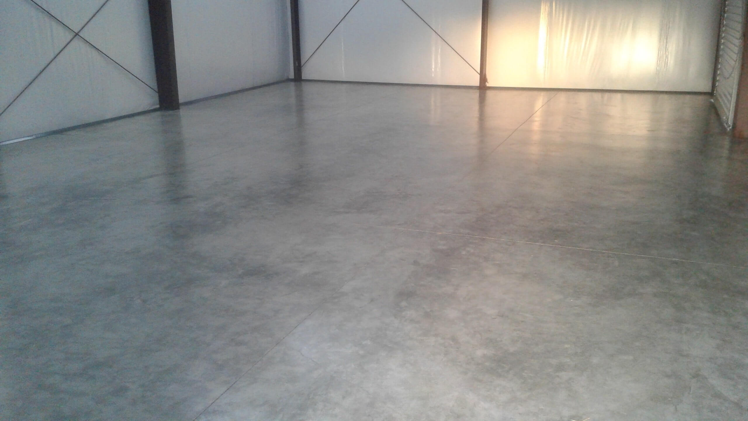 polished concrete coating customers shop floor sealed with armor nano guard