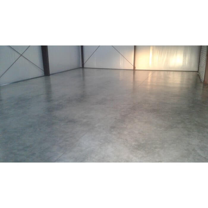 Customer's Shop Floor Sealed with Armor Nano Guard