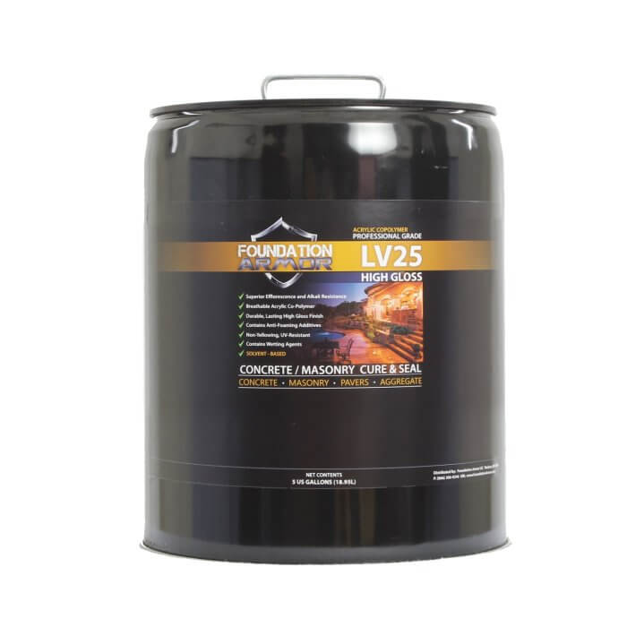 High Gloss Solvent Based LV25 Cure and Seal