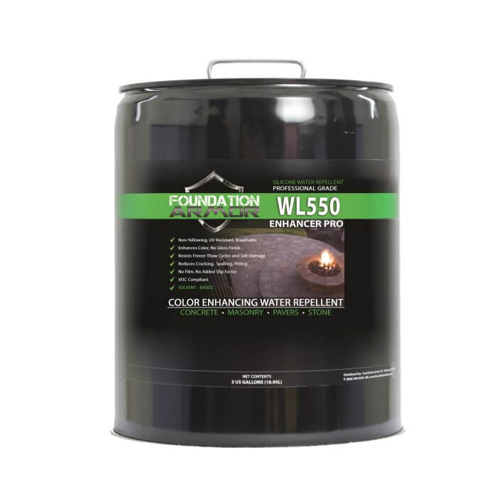 ARMOR WL550 Enhancer Pro Concrete Darkening