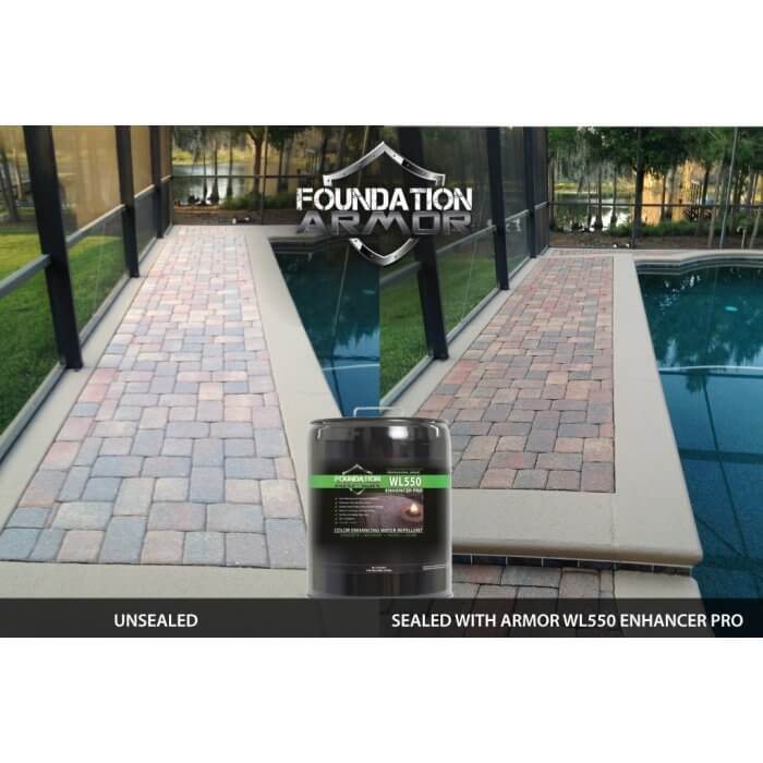 Concrete Paver Color Enhancer