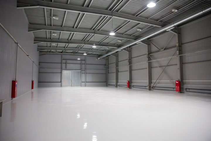 ... Industrial Grade Aliphatic Urethane Coating That Will Provide Years Of  Life And Protection When Applied To A Properly Prepared Interior Concrete  Floor.