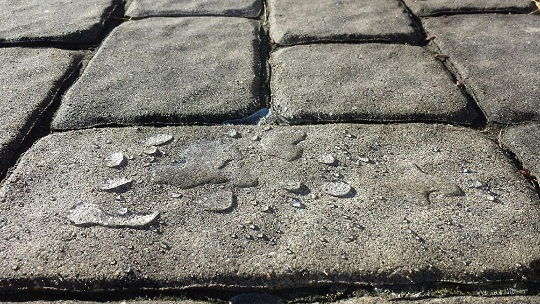 Pavers Sealed with Armor SX5000