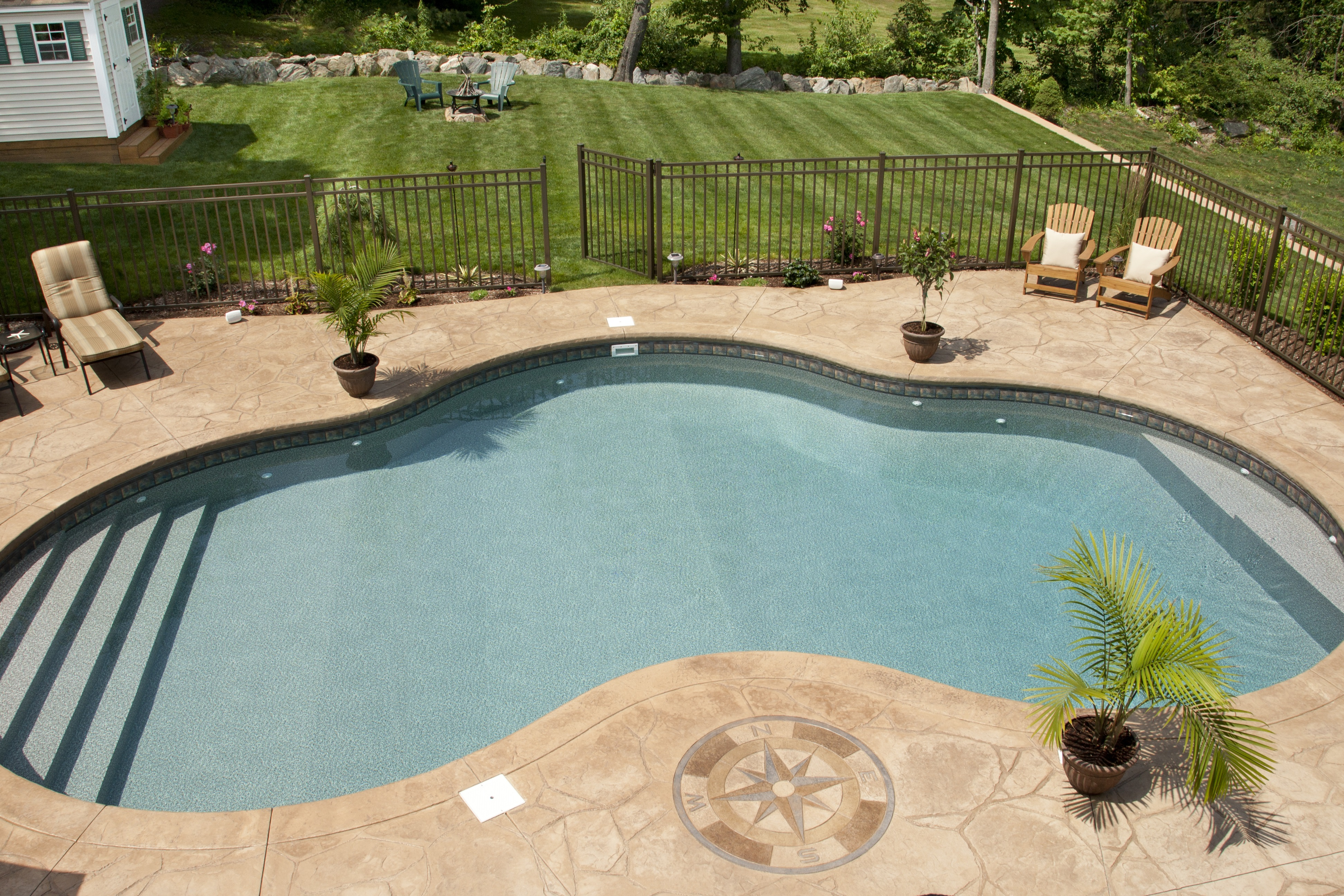 Sealing exposed aggregate pool deck - Salt Water Concrete Pool Deck Sealer