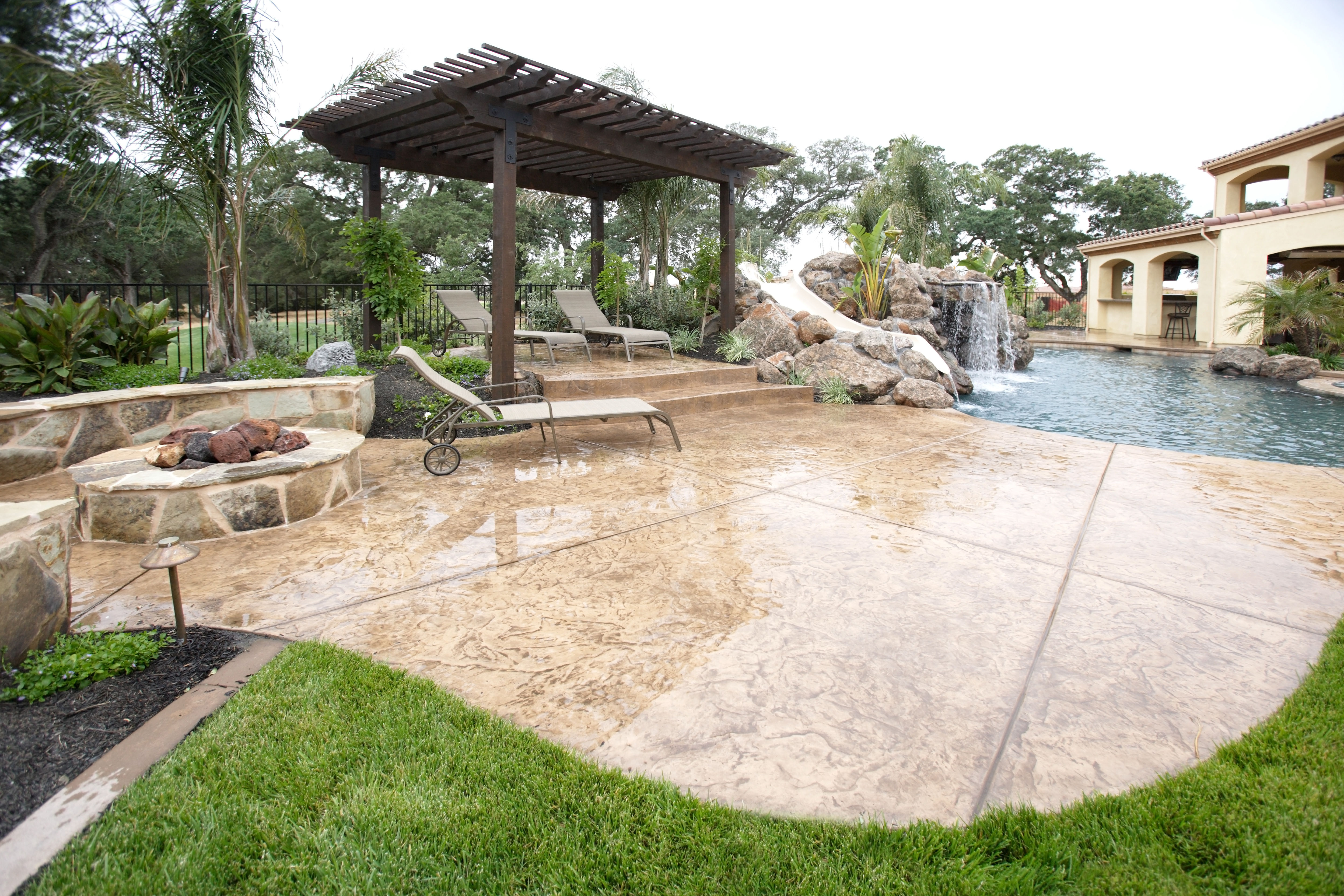 Sealing exposed aggregate pool deck - Wet Look Pool Deck Sealers